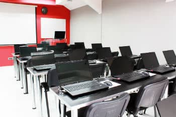 ITS computer lab Mihajlo Pupin