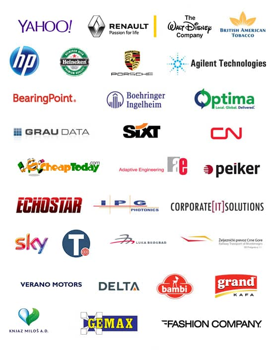 Companies we cooperate with ITS