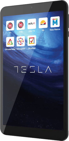Tesla tablet